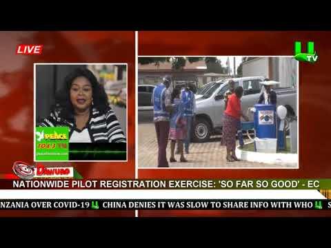 Nationwide pilot registration exercise 'So far so good' - EC