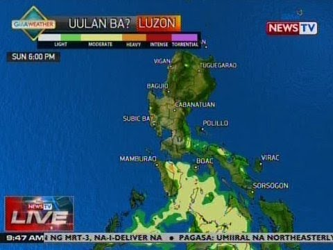 [GMA]  NTVL: Weather update as of 9:47 a.m. (Oct. 21, 2018)