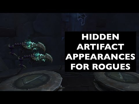 Hidden Artifact Appearances for Rogues (Hidden Potential)   WoW Guide