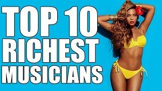 Top 10 Richest Musicians In The World – 2017 (Net Worth)