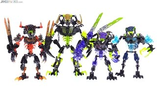 LEGO Bionicle Summer 2016 Villains wrap-up