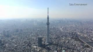 東京スカイツリー空撮映像tokyoskytreeaerial