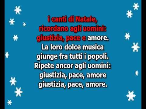 , title : 'Natale Karaoke : Astro del ciel, Tu scendi dalle stelle. L'albero di Natale ...'