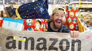 I Bought An Amazon RETURN PALLET and found this.. (CHRISTMAS RETURNS)