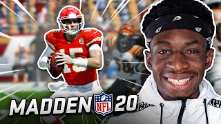 MY FIRST TIME EVER PLAYING MADDEN 20!!!