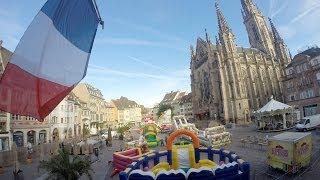 preview picture of video 'Time-Lapse Place de la Réunion à Mulhouse'