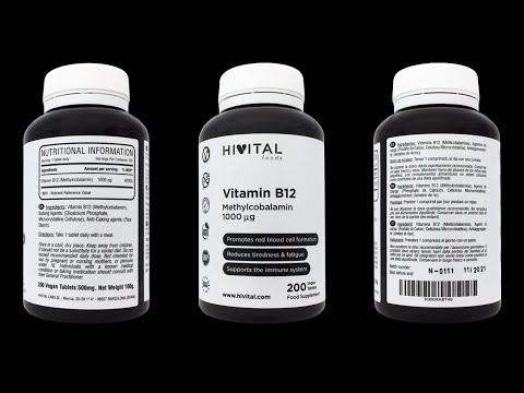 VIDEO: VITAMINA B COMPLEX | 210 CÁPSULAS VEGANAS