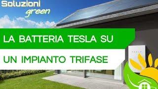 BATTERIA TESLA su un IMPIANTO TRIFASE da 20 kWp - #111