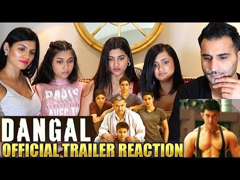 DANGAL | AAMIR KHAN | Trailer REACTION & REVIEW