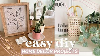 Home Decor DIY Projects ✨ Easy Minimal And Budget Friendly Pinteresty DIY Ideas For 2020