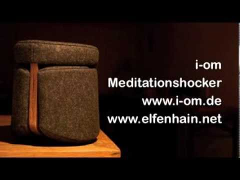 So entsteht der i-om Meditationshocker