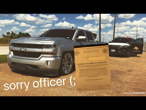 How to get a Window Tint Exemption, step by step - YouTube