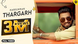 THARGARH  HARSIMRAN  Full Official Video  Yaar Anmulle Records 2015