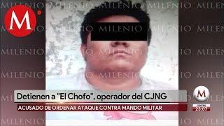Cae 'El Chofo', Jefe De Plaza Del CJNG En San Juan De Los Lagos
