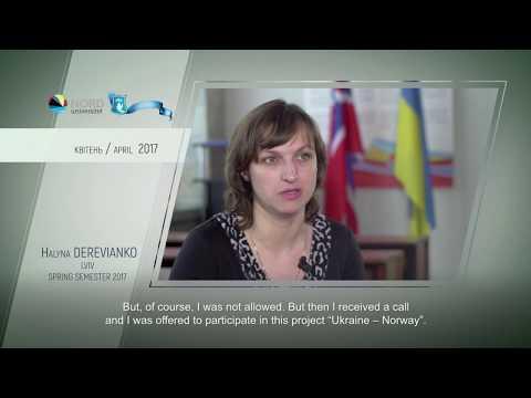 Відео-відгук випускниці проекту «Україна-Норвегія» Галини Дерев'янко