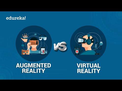 AR vs VR | What are Virtual and Augmented Realities? | @edureka!