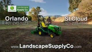 Less Work, More Work | John Deere 1 Family Sub-Compact Utility Tractors