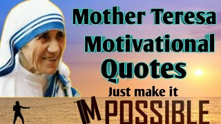 Top 10 Mother Teresa Quotes On Kindness And Love