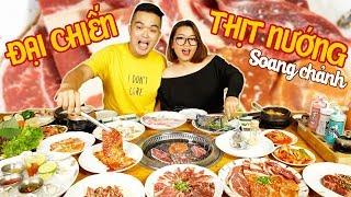 ĐẠI CHIẾN THỊT NƯỚNG KIỂU NHẬT SANG CHẢNH CÙNG ĂN SẬP SÀI GÒN | JAPANESE BBQ | THÁNH ĂN TV