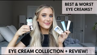 Eye Cream Collection Review + Comparison   Cetaphil, Cerave, Neutrogena, Versed, ROC