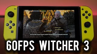Witcher 3 can hit 60fps on Nintendo Switch   MVG