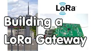 #115 How to build a LoRa / LoraWAN Gateway and connect it to TTN? Using an IC880a Board