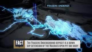 Modern Underground Mining - Oceana Gold, Frasers Mine.