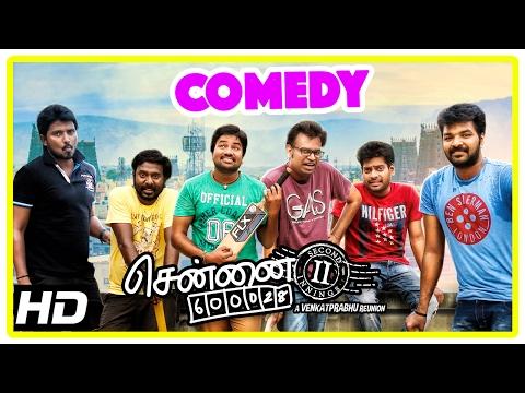 Chennai 600028 II Movie | Comedy Part 1 | Shiva | Premji | Vaibhav | Vijay Vasanth | Nithin