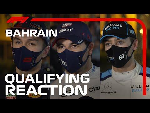 予選後のドライバーインタビュー。F1 バーレーンGP 予選後のドライバーインタビュー動画