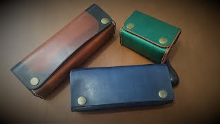 Making A Simple Leather Case [Free Pattern]