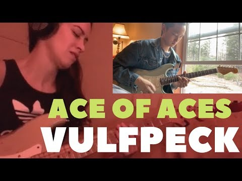 [COVER] VULFPECK - Ace of Aces | Any Riwer | Rock Choi