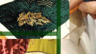 Behind the Emerald Curtain: Costume Beading