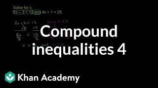 Compound Inequalities 4