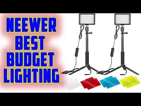 Neewer 2 Packs Dimmable 5600K - Best Budget Lighting