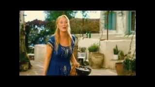 "Pierce Brosnan and Meryl Streep sing ""S.O.S"" in ""Mamma Mia!"""