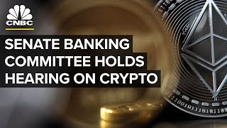Senate Banking Committee Holds Hearing on Crypto - Oct. 11, 2018