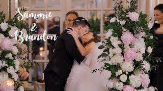 Beautiful Wedding Vows - Elegant Jewish Wedding At Fairmont Copley Boston // Sammie & Brandon