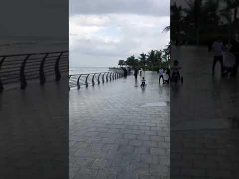 هطول أمطار على محافظة جدة
