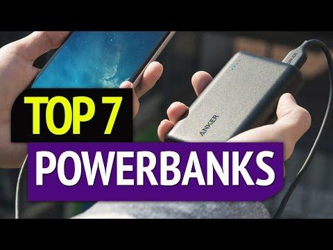 TOP 7: Best Powerbanks 2020