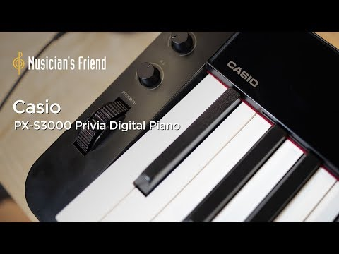 Casio PX-S3000 Privia Digital Piano - Demo, Features and Specifications