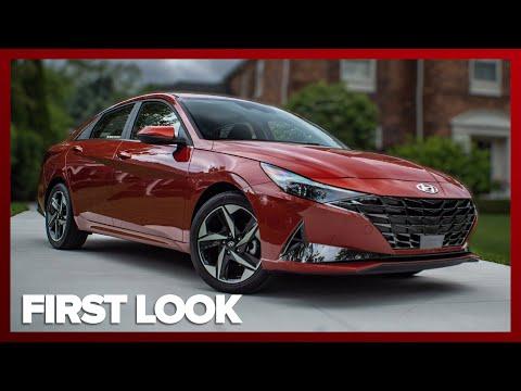 External Review Video ZFfdIEwJw8c for Hyundai Elantra & Elantra Hybrid Compact Sedan (7th-gen, CN7, 2021)