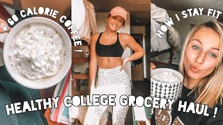 HEALTHY COLLEGE GROCERY HAUL︱how To Eat Healthy In Your Dorm!!︱ Jamie Nicole