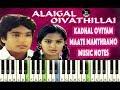 (Ilayaraja) Kadal Oviyam - Maathe Manthramo - Piano Notes - MIDI - Sheet Music