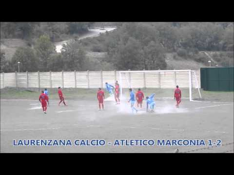 Preview video Video calcio Laurenzana-Atletico Marconia 1-2 Seconda Categoria B 1 giornata Laurenzana 26 ottobre 2014