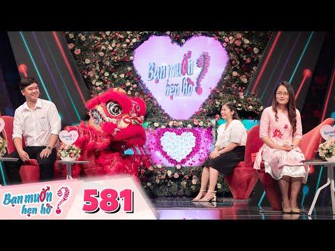 Bạn Muốn Hẹn Hò   Tập 581: Em trai Hồng Vân bất ngờ múa Lân trên sân khấu làm tan chảy cô ba Sài Gòn