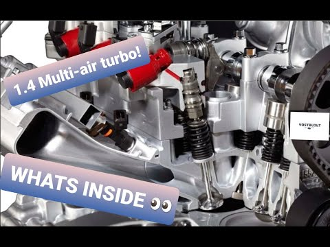 Fiat 1.4 liter TURBO Multi-air! Full engine tear down! WHATS INSIDE YOUR FIAT!
