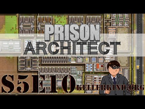 Prison Architect [HD|60FPS] S05E10 – Verurteilung – Part 5 ★ Let's Play Prison Architect