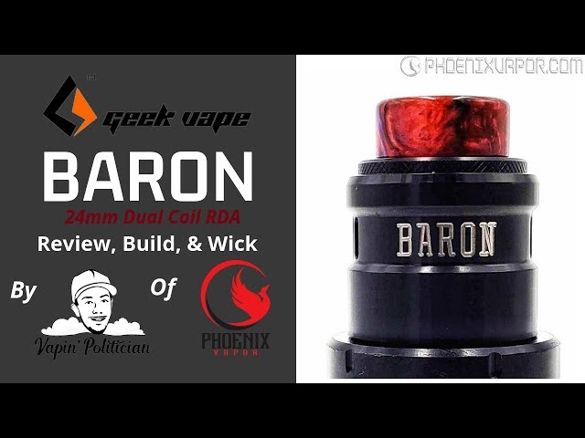 Baron RDA by Geekvape - Almost but not quite