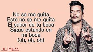 Maluma - No Se Me Quita Ft. Ricky Martin (Letra) 4K