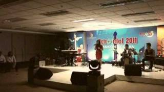 Adelin Aramita Covered Kahitna - Takkan terganti at Petro Idol 2011
